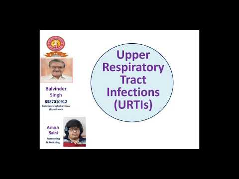 Upper Respiratory Tract Infections ( URTIs)