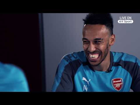 Welcome To Arsenal - Aubameyang And Mkhitaryan's Initiation With Bellerin And Iwobi