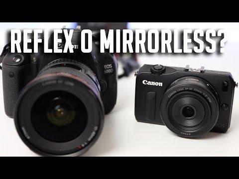 Reflex Vs Mirrorless quale scegliere?