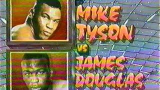 "Mike Tyson Vs James ""Buster"" Douglas"