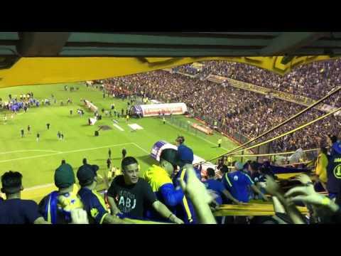 Boca ya salió campeón - Boca Unión 2017 (Final del partido) - La 12 - Boca Juniors