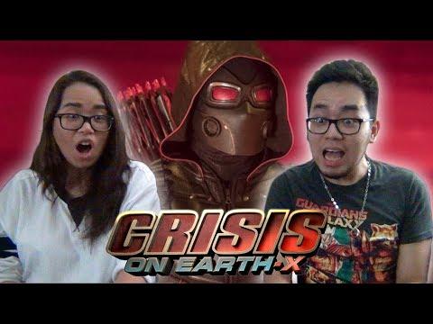 CRISIS ON EARTH-X Part 2 REACTION Arrow Season 6 Episode 8 6x8 REVIEW