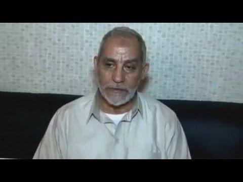 Egyptian forces arrest Muslim Brotherhood leader Mohamed Badie