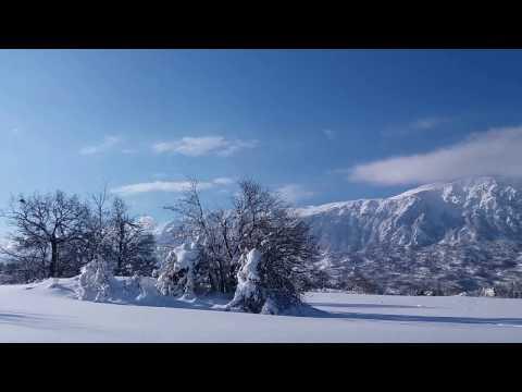 Preview video Majella e Morrone dopo la nevicata