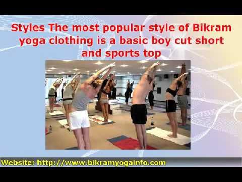 Bikram Yoga Clothing