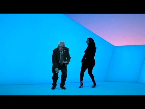 You Have to Watch this Funny Video That Ellen Made of Bernie Dancing