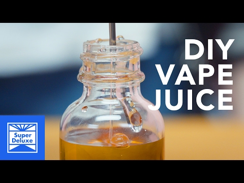 D.I.Y. Coffee Vape Juice