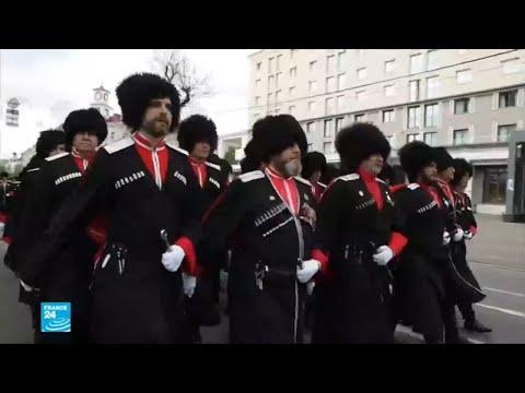 العرب اليوم - أفراد من مقاتلي القوقاز لتوفير الأمن في مونديال روسيا