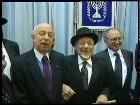ELIO TOAFF E LA CALABRIA. Quando il rabbino parlò della Cabala Ebraica nel Sud Italia.