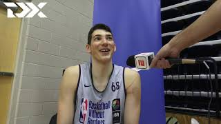 Matej Rudan: 2019 Basketball Without Borders Interview by DraftExpress