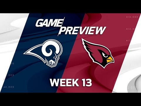 Video: Los Angeles Rams vs. Arizona Cardinals | NFL Week 13 Game Preview | NFL Playbook