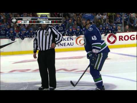 Canucks - Vancouver Canucks Vs Detroit Red Wings in a shootout, Enjoy!