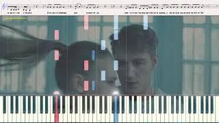 Отдал тебе сердце - Воробьёв Алексей (Ноты и Видеоурок для фортепиано) (piano cover)