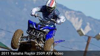 2. MotoUSA First Ride:  2011 Yamaha Raptor 250R ATV Video