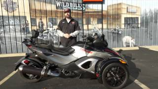 1. 2011 Can-Am Spyder RS-S SM5