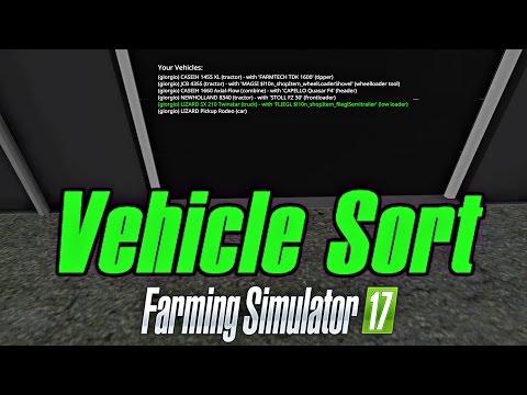 VehicleSort v1.0.0.7