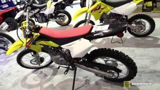 9. 2014 Suzuki DR-Z 125L - Walkaround - 2014 St Hyacinthe ATV show
