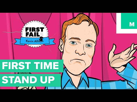 Jokes - Kevin Allison Froze Up On Stage  First Fails