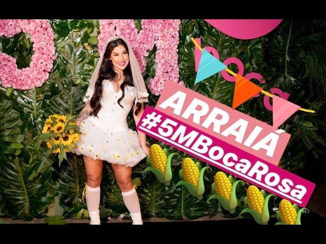 NOSSA FESTA DE 5 MILHÕES!!! - Boca Rosa