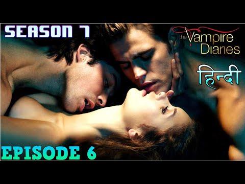The Vampire Diaries Season 7 Episode 6 Explained Hindi  वैम्पायर डायरीज Julian meets Salvatore bro's