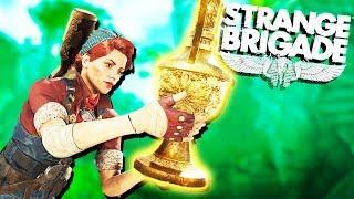 Discovering Secret Treasure and Hidden Loot! - Strange Brigade Gameplay