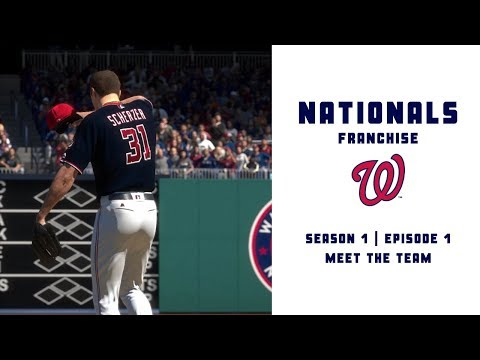 MLB The Show 19 Nationals Franchise | Episode 1 | Meet the Team