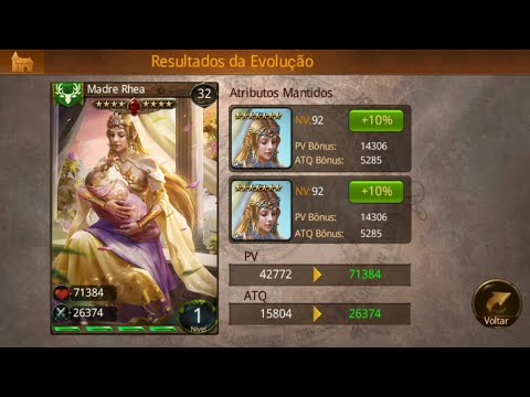 Heroes Of Camelot | Card 7* | Madre Rhea T4/8 | Boss Of World