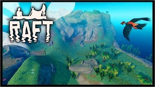 RAFT LARGE ISLAND UPDATE - How To Find Large Islands | Raft Survival Gameplay (Update)