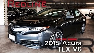 Redline Review: 2015 Acura TLX V6
