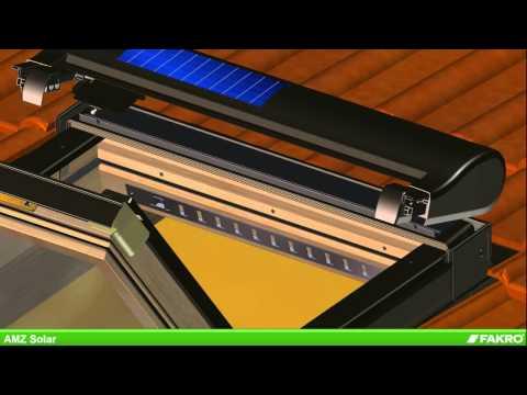 FAKRO markízy - markíza AMZ Solar