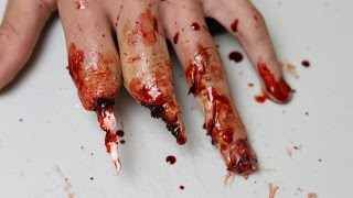 Tutorial: Mutilated Hand Makeup (Using Wax) - YouTube