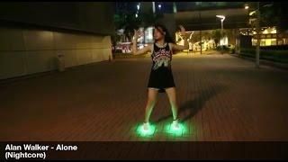 Video Alan Walker-Alone 美女 曳步舞 鬼步舞 Girl Shuffle download in MP3, 3GP, MP4, WEBM, AVI, FLV Mei 2017