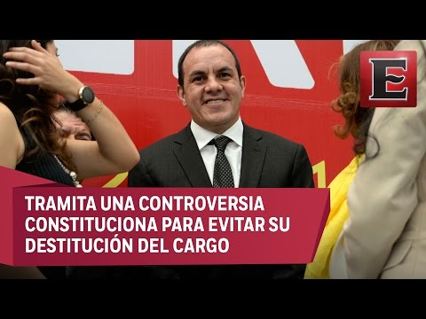 SCJN frena destitución de Cuauhtémoc Blanco al frente de Cuernavaca