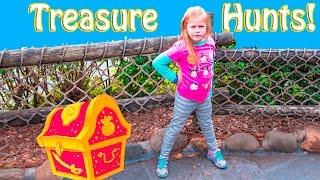 ASSISTANT Treasure Hunts Disney World and Hawaii Surprise Trea...