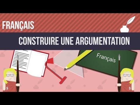 comment construire un paragraphe argumenté en français