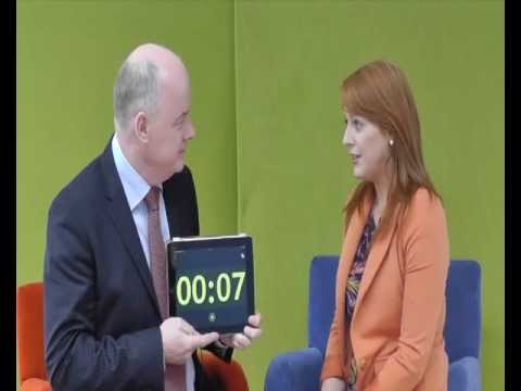 Naomh McElhatton, Digital Advertising NI, takes the 60 second challenge with Omagh Enterprise
