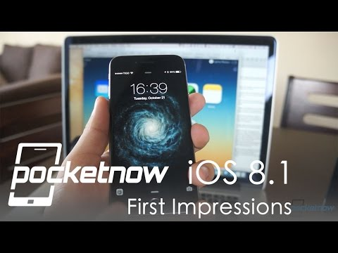 Drive - Watch our first impressions video of iOS 8.1 after it was officially released by Apple yesterday. Subscribe: http://www.youtube.com/subscription_center?add_user=Pocketnowvideo About us: Pocketnow.