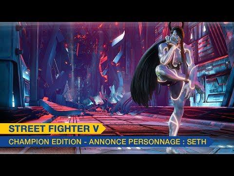 Trailer de Seth de Street Fighter V: Champion Edition