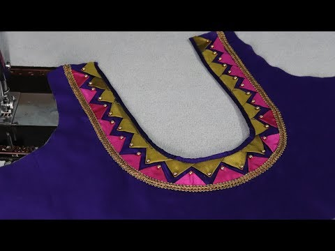 Video patch work blouse Back Neck designs cutting and stitching 2018 download in MP3, 3GP, MP4, WEBM, AVI, FLV January 2017