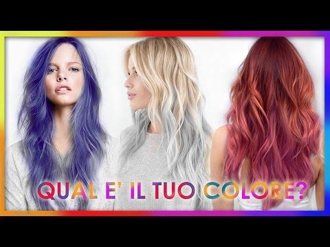 il significato del colore dei capelli - guarda qui!