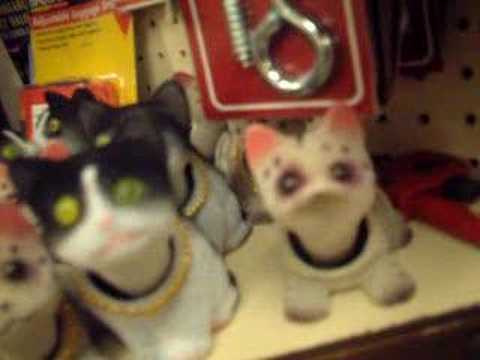 Nodding Cats