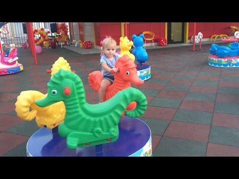 Классная Детская ПЛОЩАДКА  LOLLIpop  ИГРОПАРК развлечения для детей  Playground with attractions (видео)