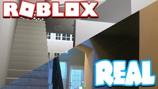 Welcome back to another ROBLOX VIDEO! Today we recreate my REAL LIFE HOME INTO ROBLOX BLOXBURG! leave a like if u want t to see the whole thing done!Twitter: http://twitter.com/Pokediger1Twitch: http://twitch.tv/Pokediger1Instagram: http://instagram.com/Pokediger1Snapchat: https://www.snapchat.com/add/realpokeyIntro: Ookay - ThiefLink: https://www.youtube.com/watch?v=knnf2Aw6kMUWhat is ROBLOX? ROBLOX is an online virtual playground and workshop, where kids of all ages can safely interact, create, have fun, and learn. It's unique in that practically everything on ROBLOX is designed and constructed by members of the community. ROBLOX is designed for 8 to 18 year olds, but it is open to people of all ages.