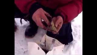 Зимняя рыбалка на реке Красивая Меча