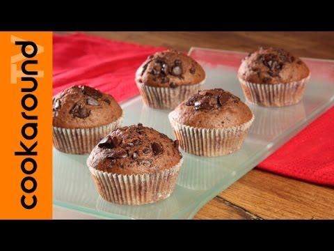 Muffin con gocce di cioccolato: ricetta e video tutorial