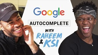 Raheem Sterling & KSI | Google Autocomplete | What have you been searching for!?