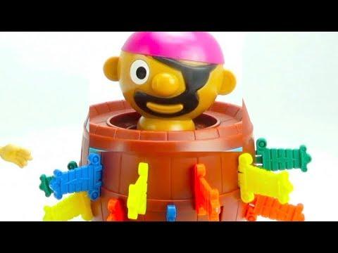 Забавная детская игрушка Прыгающий Пират Игрушкин ТВ - DomaVideo.Ru