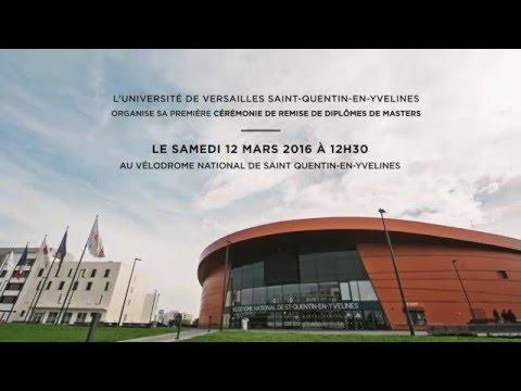 L'UVSQ organise sa 1ère cérémonie de remise de diplômes de masters