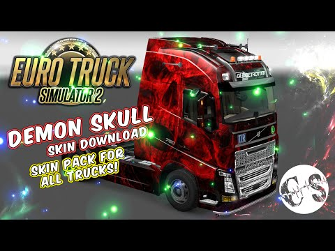 Demon Skull Skin Pack for All Trucks