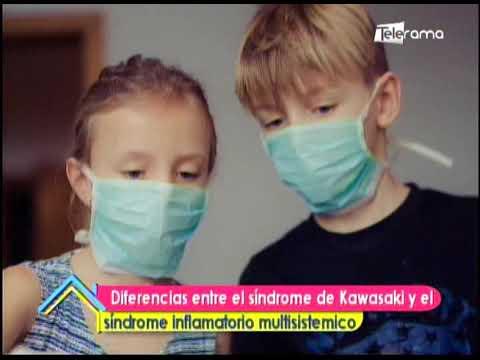 Diferencias entre el síndrome de Kawasaki y el síndrome inflamatorio multisistémico